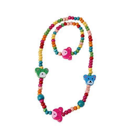 JAGENIE Schmuckset, Prinzessin Halskette Armband Schmuckset Kleinkind Kinder Kostüm Schmuck für ()