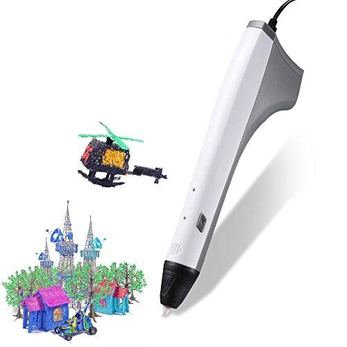 RIGHTWELL Pluma 3D de Impresión, USB Lápiz 3D Juguetes Inteligentes