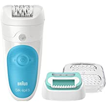 Braun Silk-Epil 5-511 Starter Kit Wet and Dry Cordless Epilator/Epilation Plus Beginners Cap