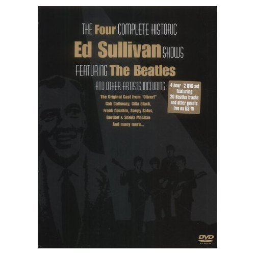 The Four Complete Historic Ed Sullivan Shows featuring The Beatles