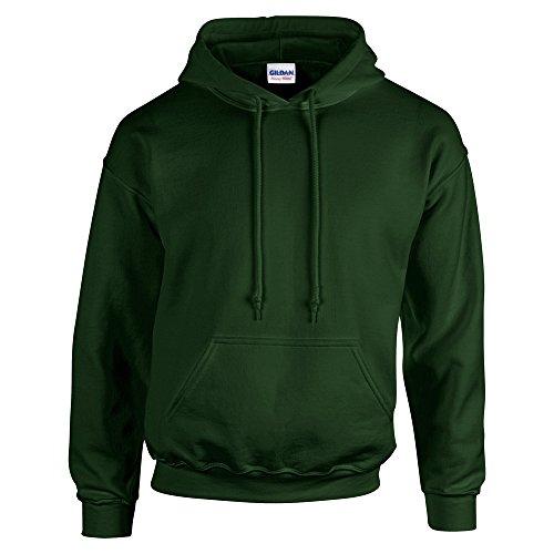 Gildan Heavy Blend, youth hooded sweatshirt Forest XL 50 Blend Youth Hooded Sweatshirt
