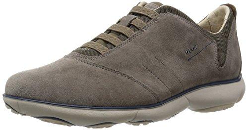 Geox u nebula b, sneaker uomo, grigio (dove grey), 41 eu