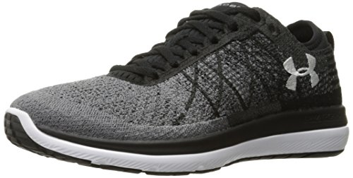Under Armour Women's Threadborne Fortis 3 Scarpe da Corsa - SS18 Nero/Grigio