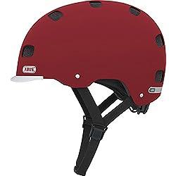 ABUS Scraper v.2 - Casco urbano para bicicleta, color rojo, L (58-63 cms)