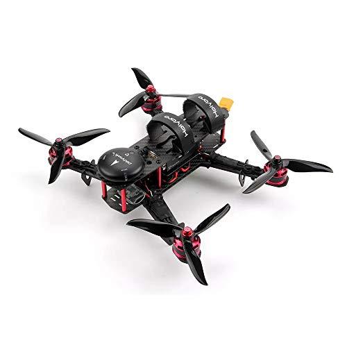 ETbotu Mini RC Quadrocopter,Holybro Pixhawk 4 QAV250 Basissatz RC Drohne mit Pixhawk 4 GPS DR2205 KV2300 Motor 433 MHz 433 Mhz Mini