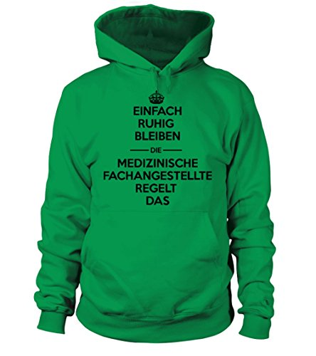 Mfa Shirt - Ruhig Bleiben / Geschenke / Lustig / Pulli / Jacke / T-shirt / Geschenk Kapuzenpullover Unisex (T-shirt Unisex Grünen Ruhigen)