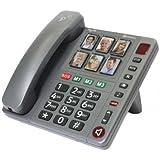 TÉLÉPHONE FILAIRE AMPLIFIE AVEC PHOTO AMPLICOMMS POWERTEL92-AMP006