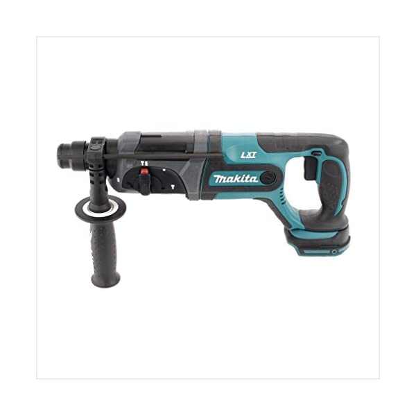 Makita DHR 241 RTJ Akku Bohrhammer 18 V Li-Ion mit SDS-Plus Aufnahme im Makpac + 2x BL 1850 B 5,0 Ah Akku + DC 18 RC…