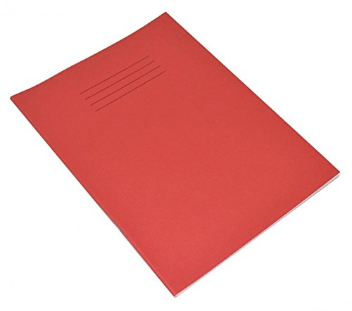 Quaderno rosso 203x 165MM Ruled 8mm 48P