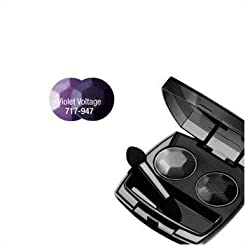 Avon Mega Impact Eyeshadow 2 Color Violet Voltage Powder