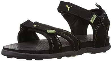Puma Men's Techno II Ind. Black Athletic & Outdoor Sandals - 11 UK /India(46EU)