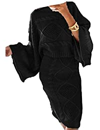 Islander Fashions Ensemble de Jupes de Costume tricotes pour Femmes