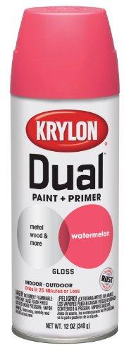 krylon-8821-dual-gloss-watermelon-paint-and-primer-12-oz-aerosol-by-krylon