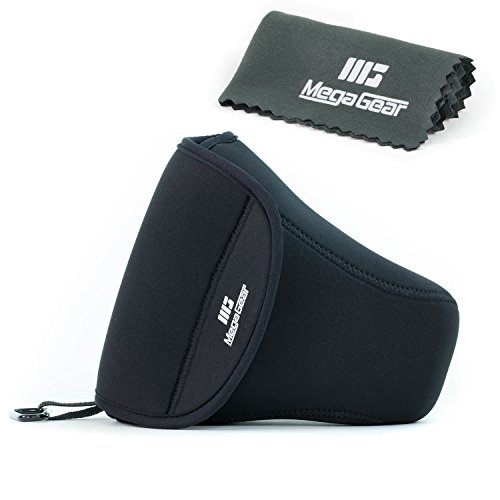 MegaGear Ultraleichte Kameratasche aus Neopren-Marterial für Digitale Spiegelreflexkameras Canon 5D Mk 3, Canon EOS 1200D, Canon 70D, 6D 60D, 7D, T5i, T4i mit Objektiv