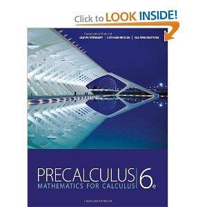 Precalculus: Mathematics for Calculus 6th (Sixth) Edition