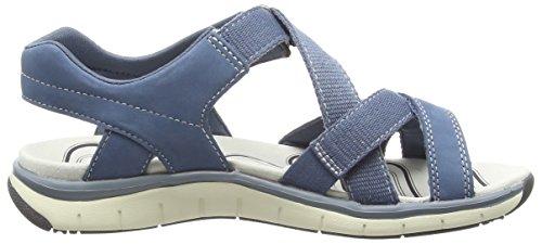 Legero Venezia, Sandales Bride arrière femme Bleu (jeansblau 86)