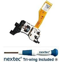 Nuevo - Lente Laser Nintendo Wii RAF-3355 (D4) + Destornillador Nextec® de Triwing