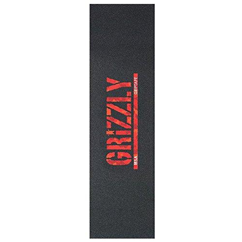 Grizzly Griptape Santiago Camo Stamp (9x33) (Camo Wheels Skateboard)