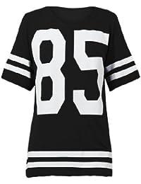 87bbc35be308a Mix lot des nouvelles femmes dames américain maillot de football de haut 85  impression t-