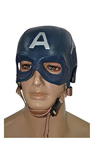 Captain America Helm Avengers Maske Cosplay Prop Stütze Blau