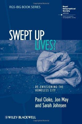 Swept Up Lives? (RGS-IBG Book Series) by Cloke, Paul, May, Jon, Johnsen, Sarah (2010) Paperback
