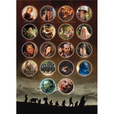 Puzzle-Le Seigneur des Anneaux-The Fellowship of The Ring-Ravensburger 1500 pièces