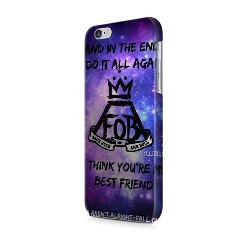 Générique Appel Téléphone coque pour iPhone 5 5s SE/3D Coque/HARRY POTTER/Uniquement pour iPhone 5 5s SE Coque/GODSGGH704815 FOB FALL OUT BOY - 030