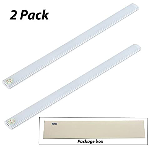 EoqoLED® 2 Pack Touch LED Light, Touch Control Dimmable LED USB Powered 21 LED Light - LED Emergency Light for Wardrobe, Closet, Attics, Hallway, Washroom, Under Cabinet and Kitchen