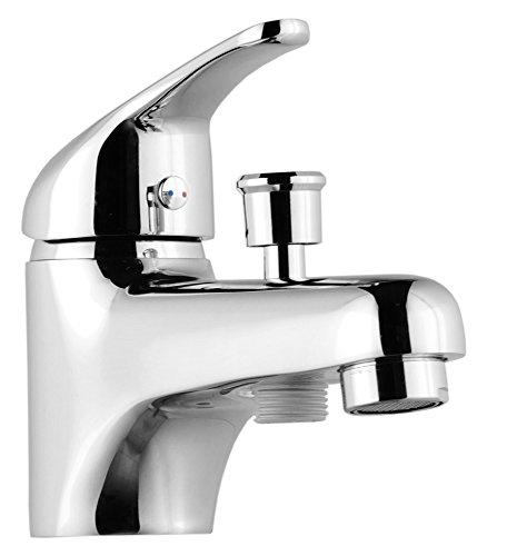 ROUSSEAU 4056452 Mitigeur bain/douche Monotrou Chromé,...