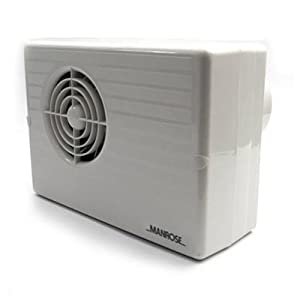 Manrose CF200T Centrifugal Electronic Timer Fan