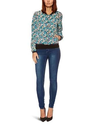 edc by ESPRIT 013CC1G003 Women's Jacket Blue Colorway X-Large