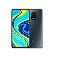 Xiaomi Redmi Note 9S Smartphone Dual SIM, 64GB Memory, 4GB RAM - Interstellar Grey