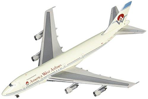 Gemini Jets GJAWE099 America West Airlines Boeing 747-200 1:400 Diecast Model