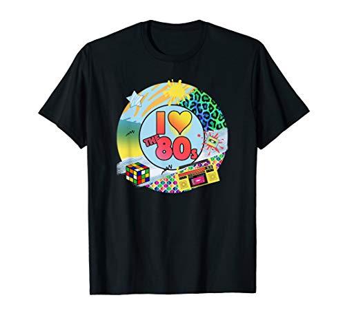 I Love the 80s Tshirt | Oldschool Tshirt ()