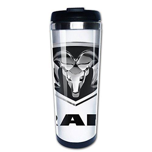 nobee-dodge-ram-logo-stainless-steel-mug-vacuum-flask-coffee-thermos