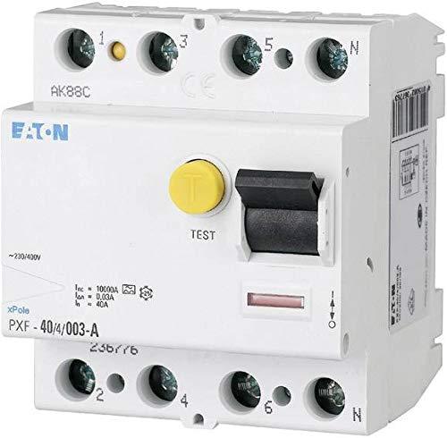 Eaton 236804 Fi-Schutzschalter 4-polig 63A 300mA PXF-63/4/0,3A