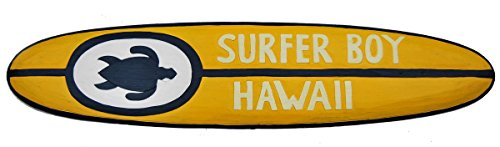 Surfboard 100cm Dekoration Surfer Boy Hawaii Mauii Surfbrett