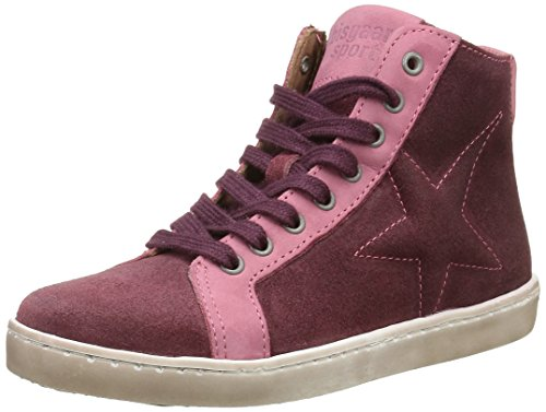 Bisgaard Mädchen Shoe with Lace 31807216 High-Top Pink (705 Rose)