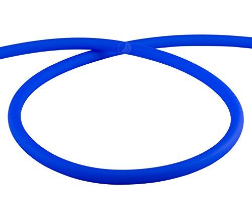 Preisvergleich Produktbild AMY Deluxe Shisha Silikonschlauch matt - blau | 150 cm