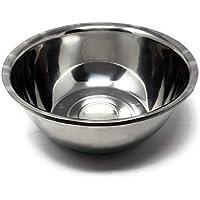 MGE - Cuenco de Cocina - Bol - Acero Inoxidable - Tamaño Grande - Diámetro 38 cm