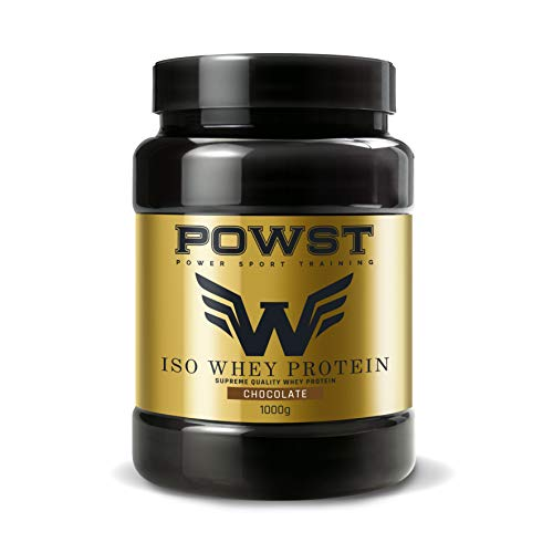 Powst premium iso whey protein chocolate 1000g.