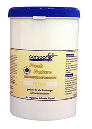 Staubsauger Duftgranulat, Zitronenduft, für alle Staubsauger mit Staubfilterbeutel, 1000ml