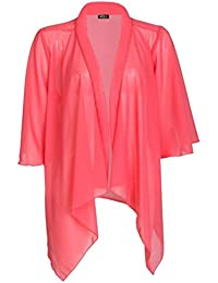 Mix lot New Ladies, Frauen Chiffon Water Kimono Damen Sexy Sheer Licht Material Gesamt Bell-Hülsen-Sommer-Cardigan Casual Wear Plus Size XL / XXL