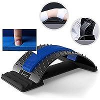 QJXF Multi-Level-Rücken-Stretching-Gerät, Rücken-Stretcher-Gerät Lendenwirbelsäule-Dehn Brett Für Die Buckel-Lendenwirbelsäule... preisvergleich bei billige-tabletten.eu
