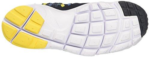 Nike Air Footscape Woven NM, Scarpe da Ginnastica Uomo Multicolore (Dark Obsidian/Tour Yellow)