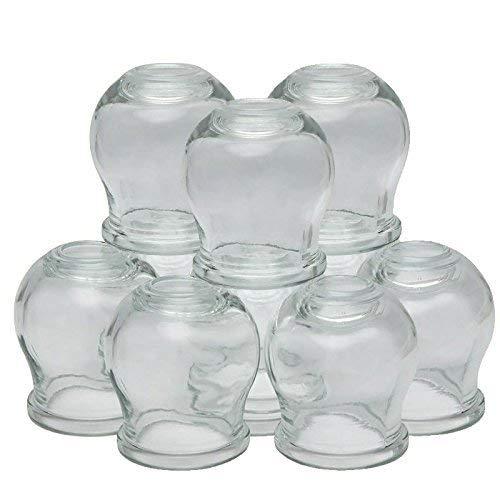 GLAS - Schröpfen * Feuerschröpfen * Schröpfkopfe (Banki) aus Glas 12 Stück im Set * банки стеклянные с применением огня