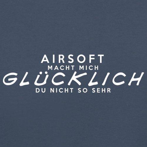 Airsoft macht mich glücklich - Herren T-Shirt - 13 Farben Navy