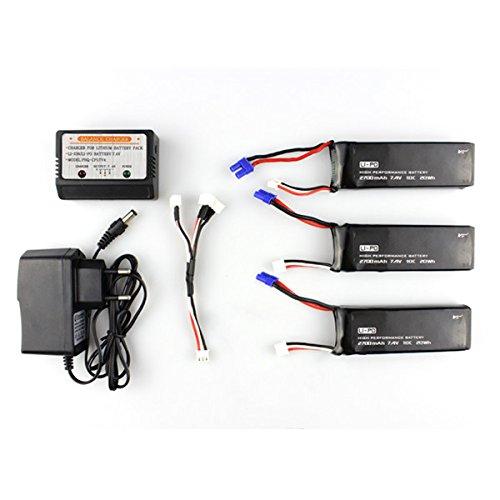 hubsan-h501s-x4-3-x-74v-2700mah-10c-batteria-e-caricabatterie-impostati