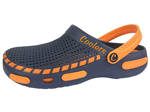 Footwear Studio Coolers Herren Strand Clog Sandalen Orange EU 42