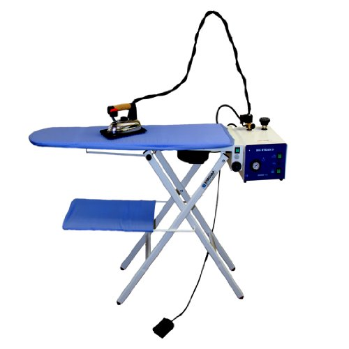 Professional Steam Generator Iron & Ironing Board